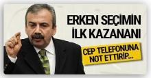 Erken seçimin ilk kazananı Sırrı Süreyya Önder oldu! Bakın neden