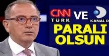 Fatih Altaylı: CNN Türk ve Kanal D paralı olsun