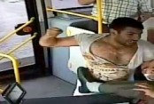Otobüs şoförüne feci dayak kamerada