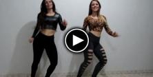İki Kızın Tık Rekoru Kıran Dansları