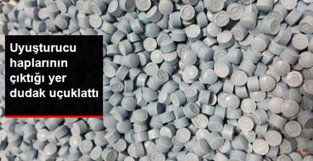 Uyuşturucu Haplarını Toprağa Gömdüler