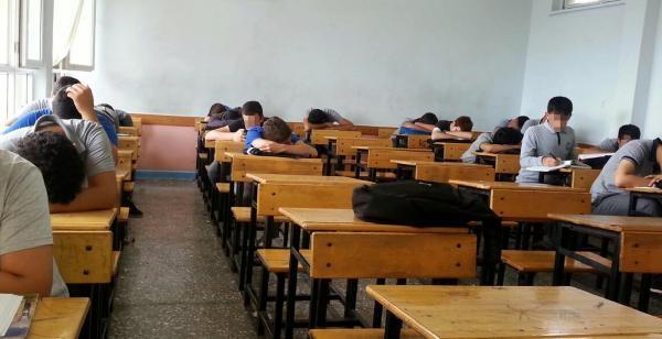 Uyuyan Sınıfın Öğretmeni Hakkında Suç Duyurusu