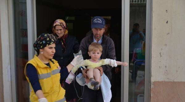 Üzerine Kaynar Su Devrilen Çocuk Yaralandı