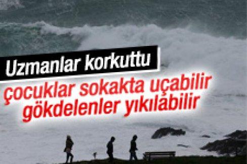 Uzmanlar fırtına için uyardı: Bu seferki farklı