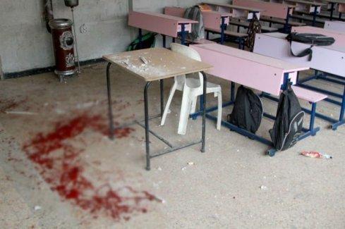 Vahşet! Sınıf kana bulandı!