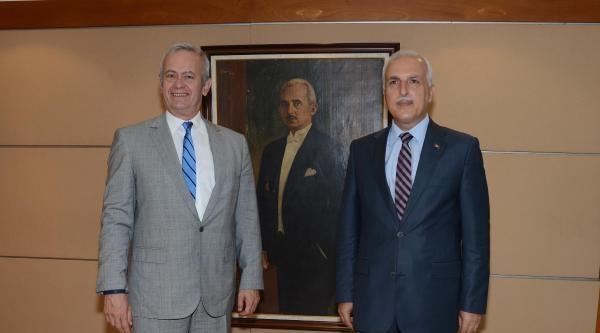 Vali Mutlu'dan Şişli Belediye Başkanı İnönü'ye Ziyaret