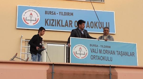 Vali Orhan Taşanlar Ortaokulu'nun Adı Değiştirildi