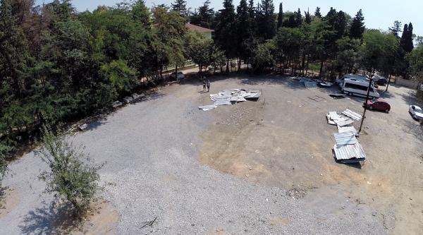 Validebağ'da Sökülen Beton Hasırlar Ve Kalıplar Depoya Kalktı