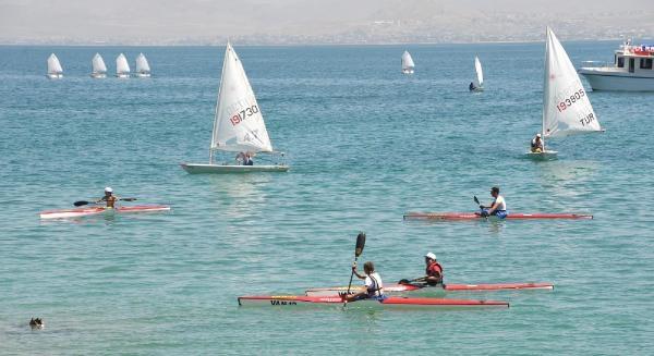 Van Denizi Su Sporları Festivali Başladı