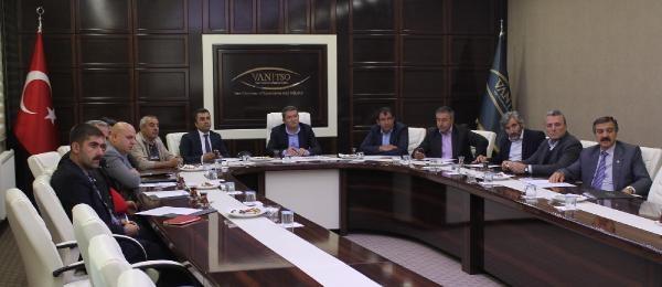 Van Ekonomi Konseyi Olağan Üstü Toplandı