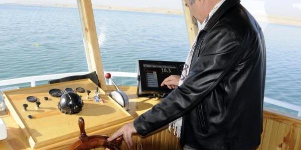 Van Gölü'nün Ilk Araştirma Teknesi Çalişmalarina Başladi