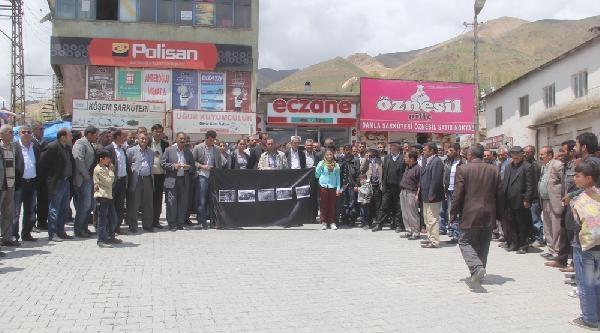 Van Ve Yüksekova'da Soma Yürüyüşü (2)