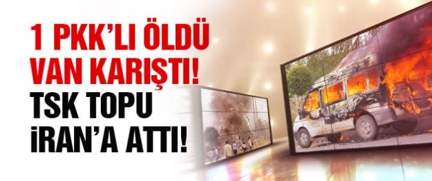 Van'da 1 PKK'lı öldürüldü şehir karıştı! TSK'dan şaşırtan açıklama!