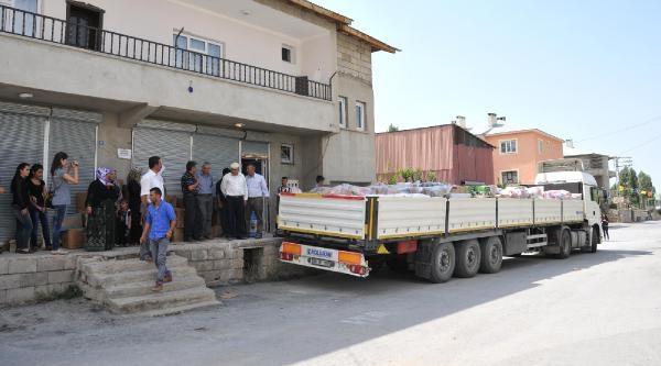 Van'dan Şengal Ve Rojava'ya Gıda Yardımı