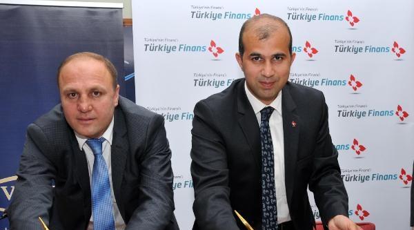 Vatso Ve Türkiye Finans Arasında Protokol İmzalandi