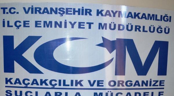 Viranşehir'de 538 Uyuşturucu Hapa 2 Tutuklama