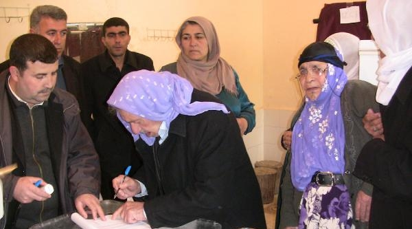 Viranşehir'de Bdp'li Başkan Adayı Oy Kullanamadı