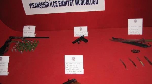 Viranşehir'de Huzur Operasyonu: 4 Gözalti
