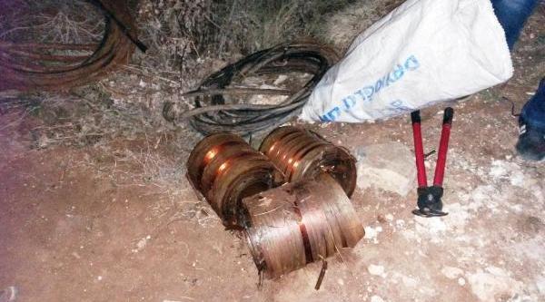 Viranşehir'de Kablo Hirsizliğina Tutuklama