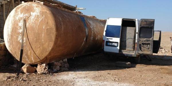 Viranşehir'de Kaçak Akaryakita 2 Gözalti