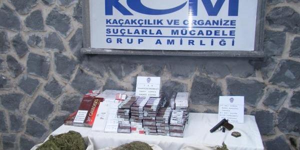 Viranşehir'de Kaçakçilik Operasyonu