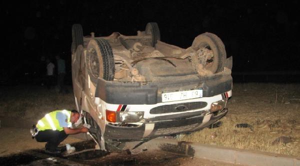 Viranşehir'de Minibüs Devrildi: 1 Ölü