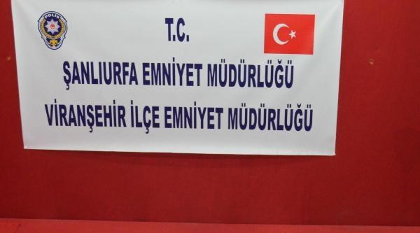 Viranşehir'de Ruhsatsız Tabanca Operasyonu