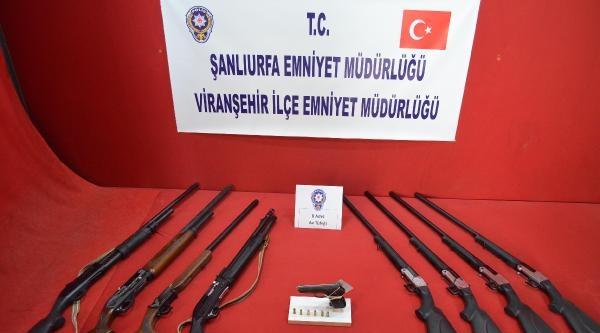 Viranşehir'de Ruhsatsız Tüfek Operasyonu