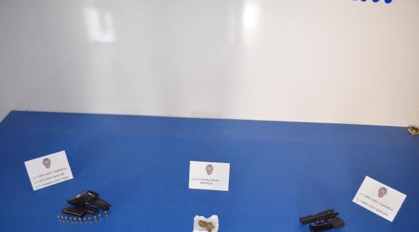 Viranşehir'de Silah Ve Uyuşturucu Ele Geçirildi