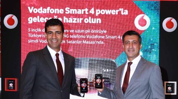 Vodafone'dan Türkiye'nin İlk Yerli Üretim 4g'li Telefonu