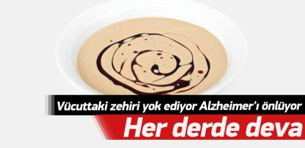 Vücutta ki zehri yok ediyor, Alzheimer'ı önlüyor! Her derde deva!