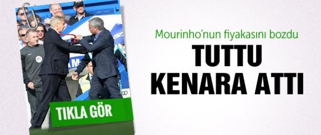 Wenger-Mourinho birbirine girdi...
