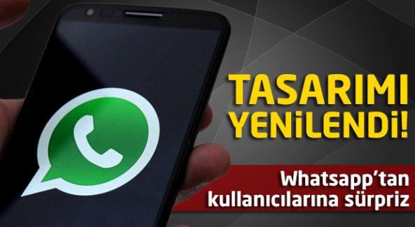 Whatsapp'ın tasarımı yenilendi