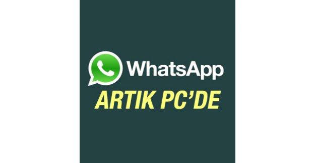 WhatsApp'tan PC sürümü