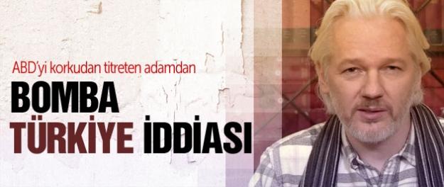 Wikileaks-Julian Assange'dan bomba Türkiye iddiası!
