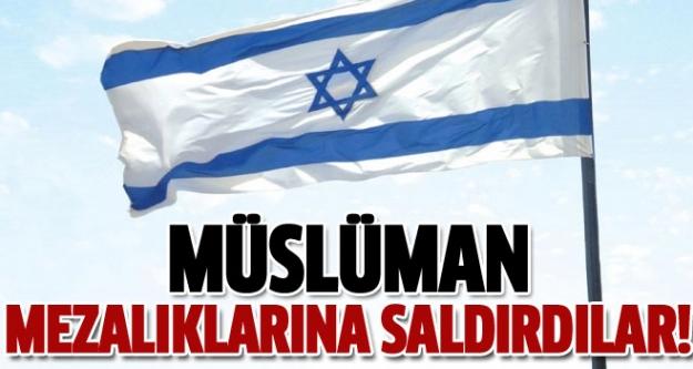 Yahudiler Müslüman mezarlıklarına saldırdı