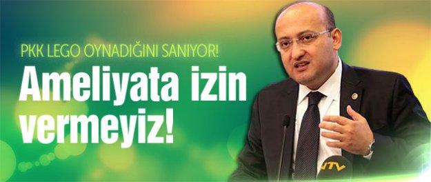 Yalçın Akdoğan'dan PKK'ya Afrin ve Kobani uyarısı!