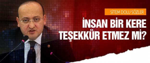 Yalçın Akdoğan'dan sitem dolu sözler!