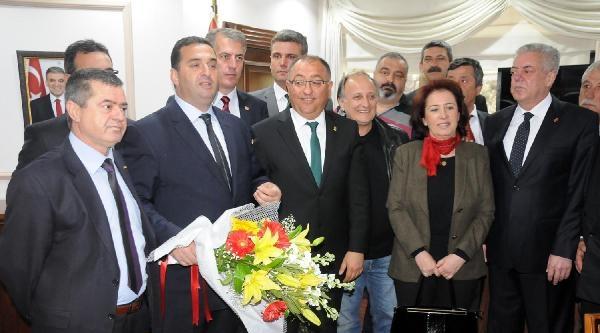 Yalova Belediye Başkanı Chp'li Salman Göreve Başladı