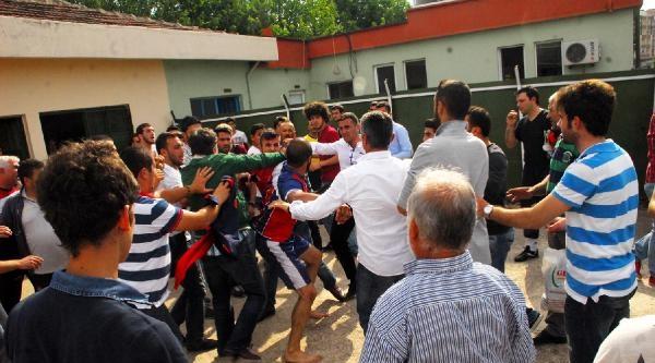 Yalova'da Amatör Maç Sonrası Kavga