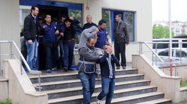 Yalova'da Şantaj Çetesine Operasyon: 9 Gözaltı