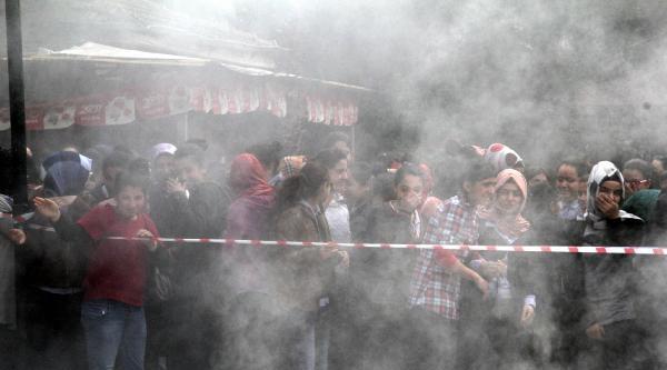 Yangın Tatbikatında Kız Öğrenciler Dumandan Etkilendi