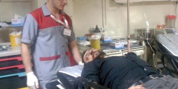 Yaninda Çaliştirdiği Suriyeli Işçi Saldirdi
