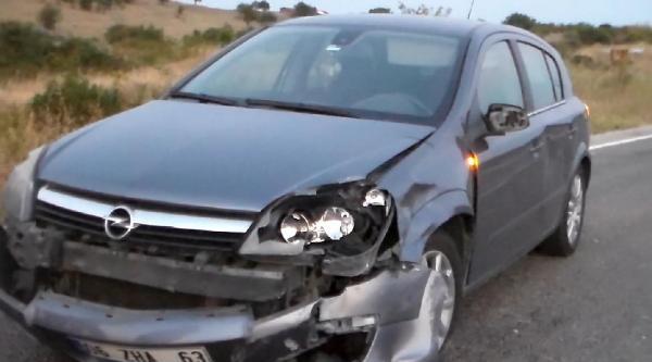 Yapay Kalpli Kazada Yaralandı