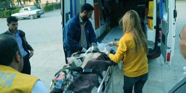 Yarali 7 Suriyeli Akçakale'ye Getirildi