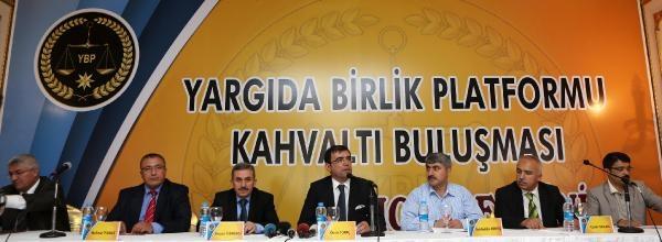 Yargıda Birlik Platformu Antalya'da Toplandı