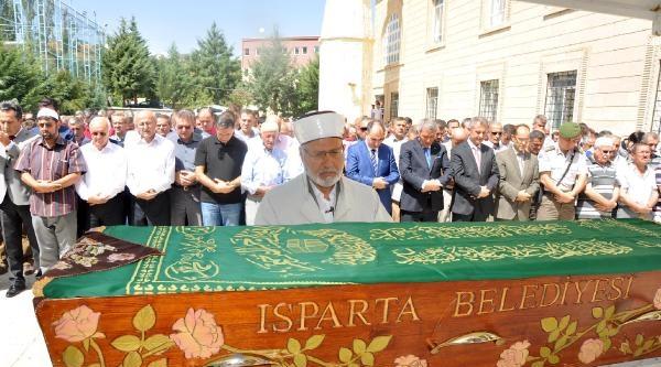 Yargıtay Başkanı, Cenaze İçin Isparta'ya Geldi
