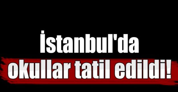 Yarın İstanbul'da okullar tatil mi?