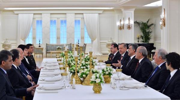Yasama, Yürütme Ve Yargi Organlarinin Başkanlari Çankaya Köşkü'nde