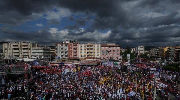 Yatağan'dan Özelleştirme Tepkili 1 Mayıs Kutlaması